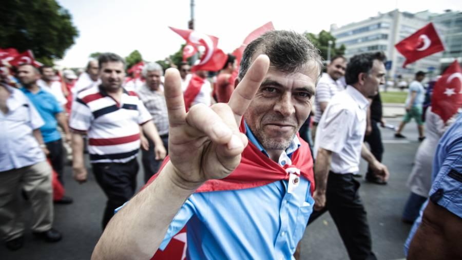 Demo, Erdogan, Wien, Türken