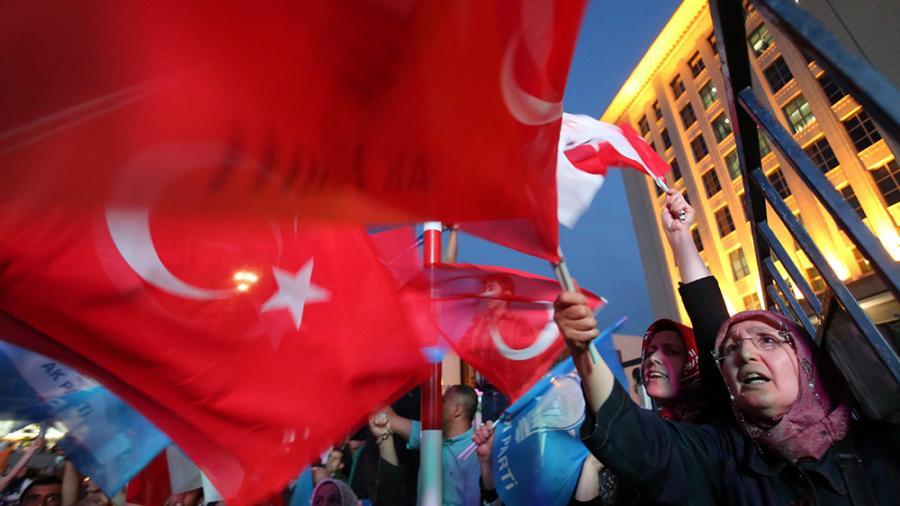 Türkei, Wahlen, Erdogan