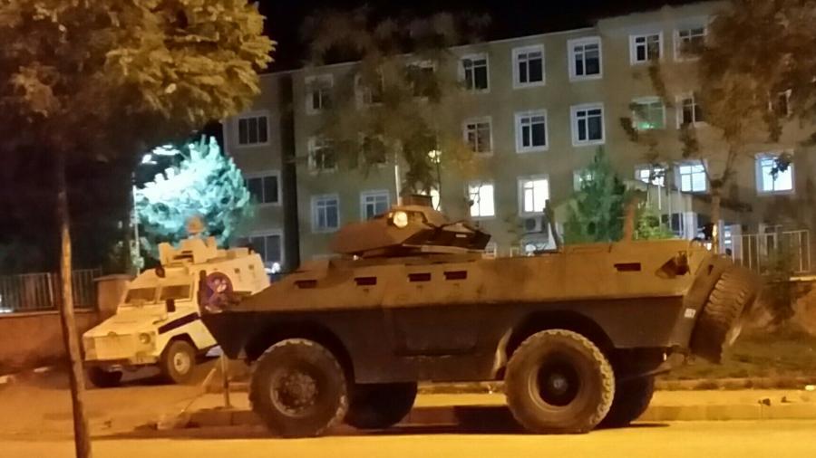 Militärpräsenz der Türkei in den kurdischen Landesteilen