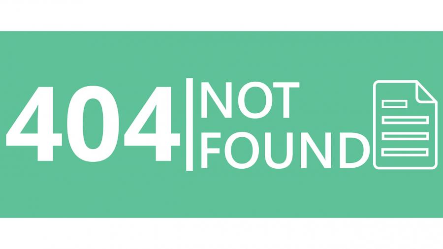 ERROR, 404, Fehlermeldung