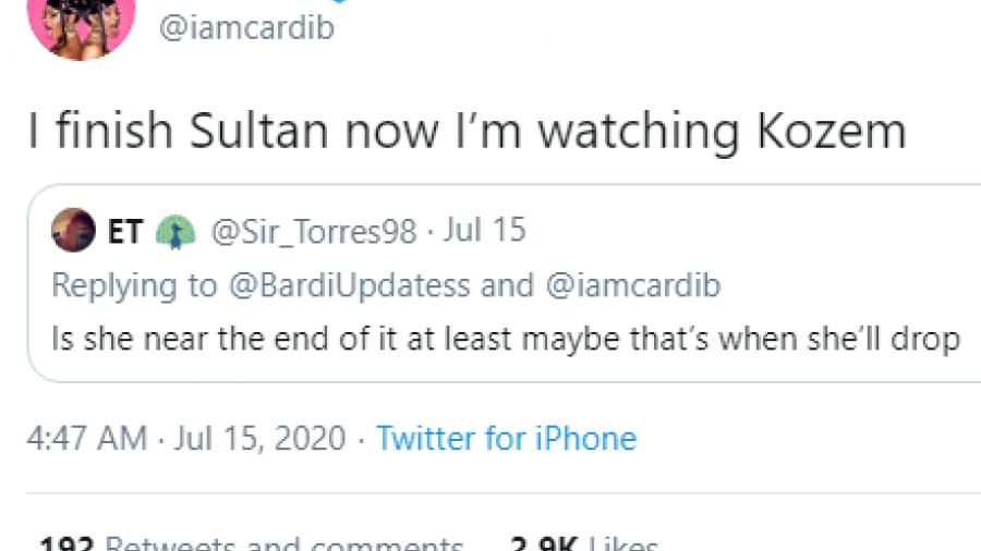Cardi B Twitter