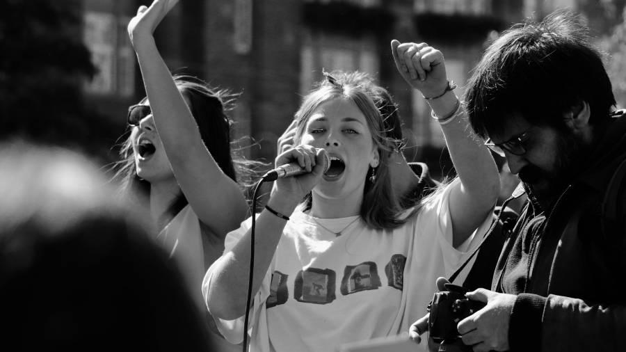 Generation Z, Demonstration, Streik
