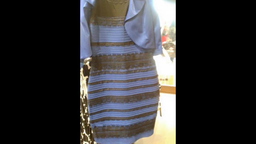 Kleid schwarz blau oder gold