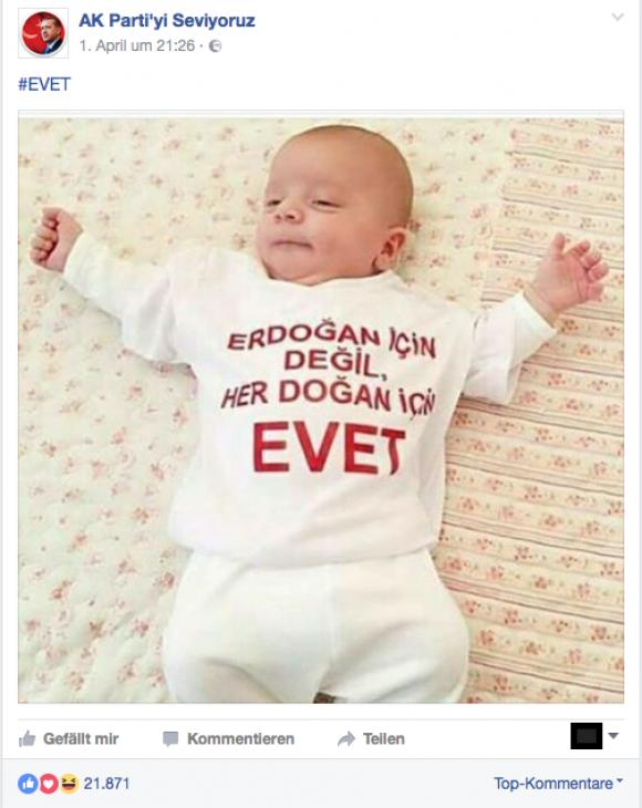 Baby, Evet, Erdogan