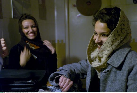 Teheran, Iran, Frauen, Kopftuch, Hijab