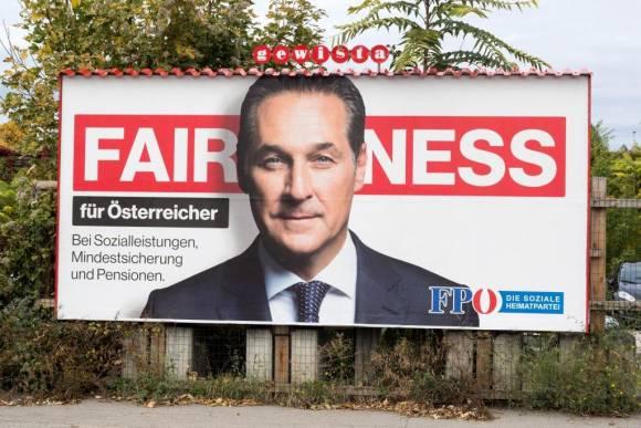 Strache, Fairness, Plakat