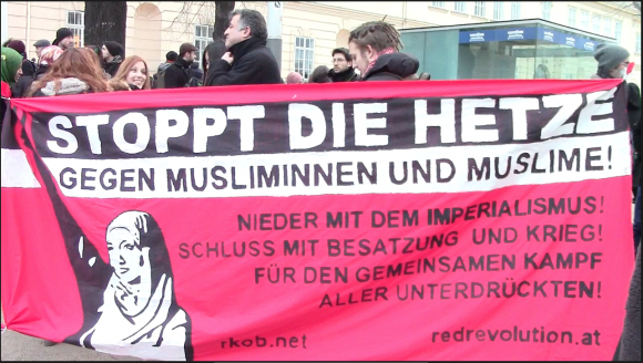 Antipegida-Bewegung Wien
