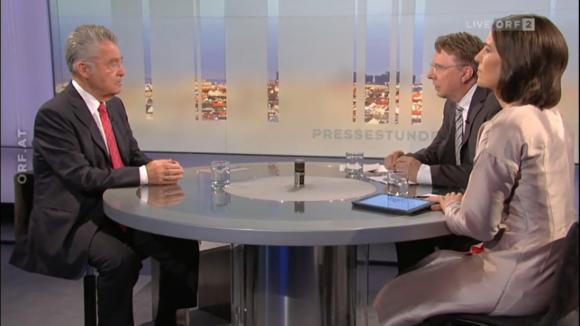 Heinz Fischer Pressestunde
