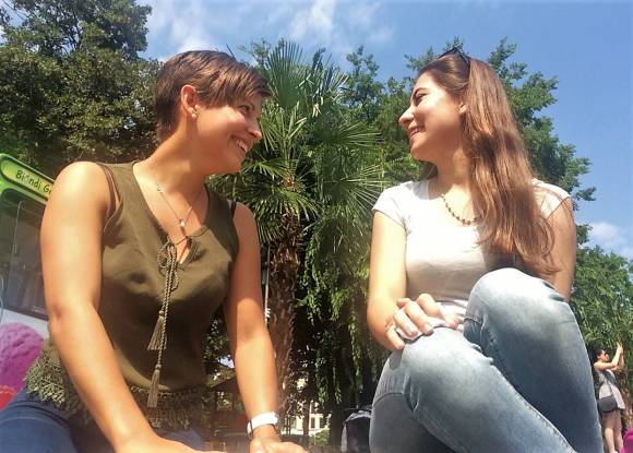 Andrea; Türkisch lernen
