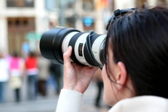 Journalismus Fotografie Frau