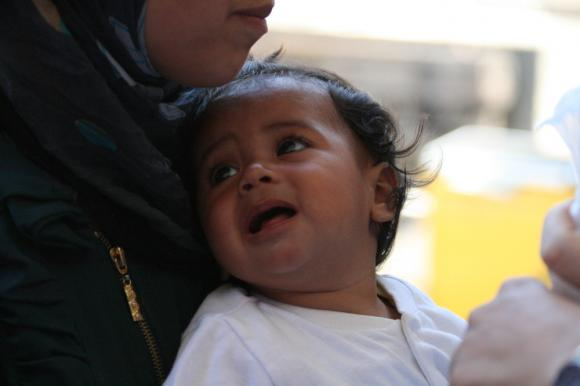 Syrisches Baby