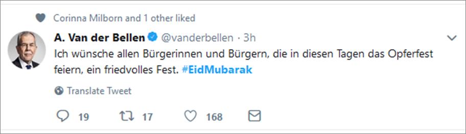 Van der Bellen