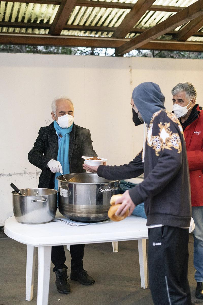 Volkshilfe Essensausgabe