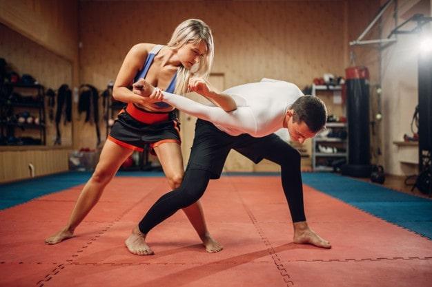 Gewalt, Selbstschutz, Kamofsport, Boxen