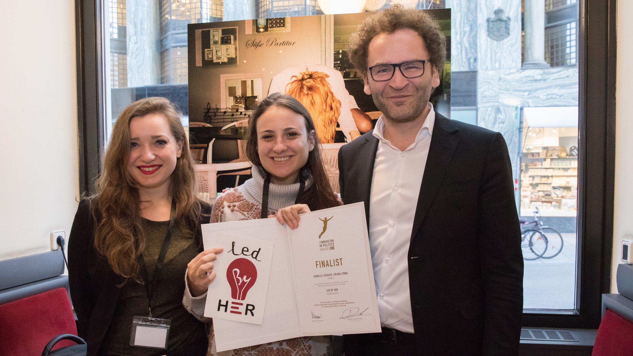 Feminismus, Frauen, PolitikerInnen, Gewalt gegen Frauen, Europa, Political Innovation Award 2017