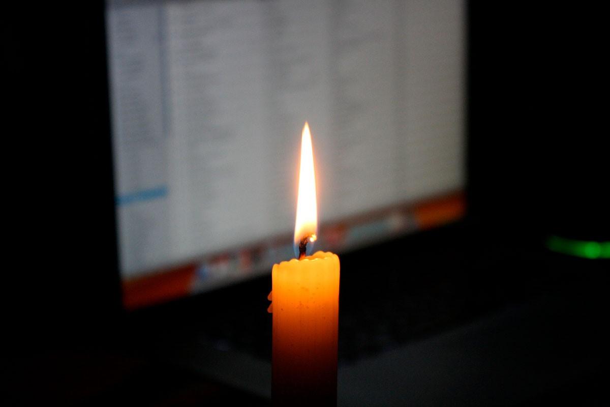 Kerzen Zoom